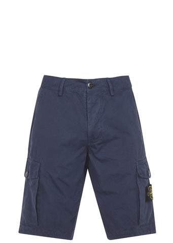 SS17 Cotton Tela Shorts in Marine Blue