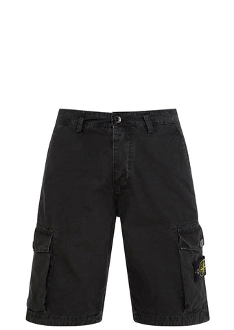 SS17 Cotton Tela Shorts in Black