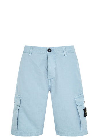 SS17 Cotton Tela Shorts in Blue