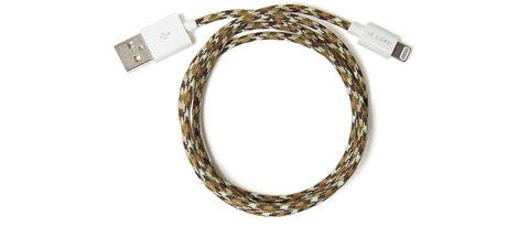Charging Cable in Camo