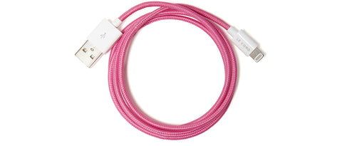 Charging Cable in Pink
