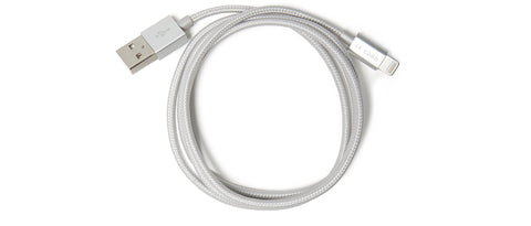 Charging Cable in Silver