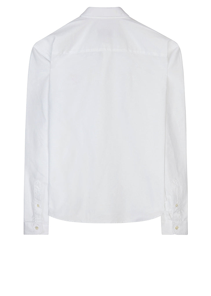 AW17 Heart Logo Oxford Shirt in White