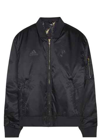 PP Bomber Jacket in Black