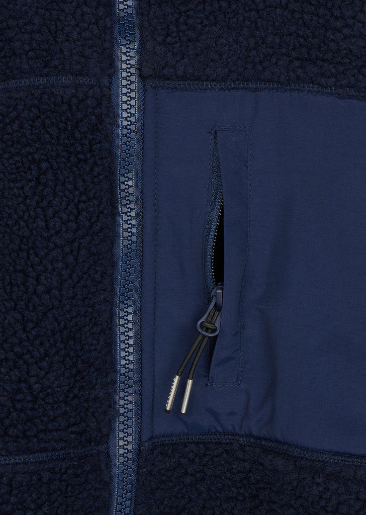 Mattawa Fleece in Navy