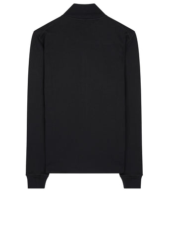 AW17 Fjord Double Face Zip Top in Black