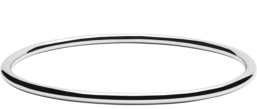 Large Silver Bangle in Premium Solid Silver
