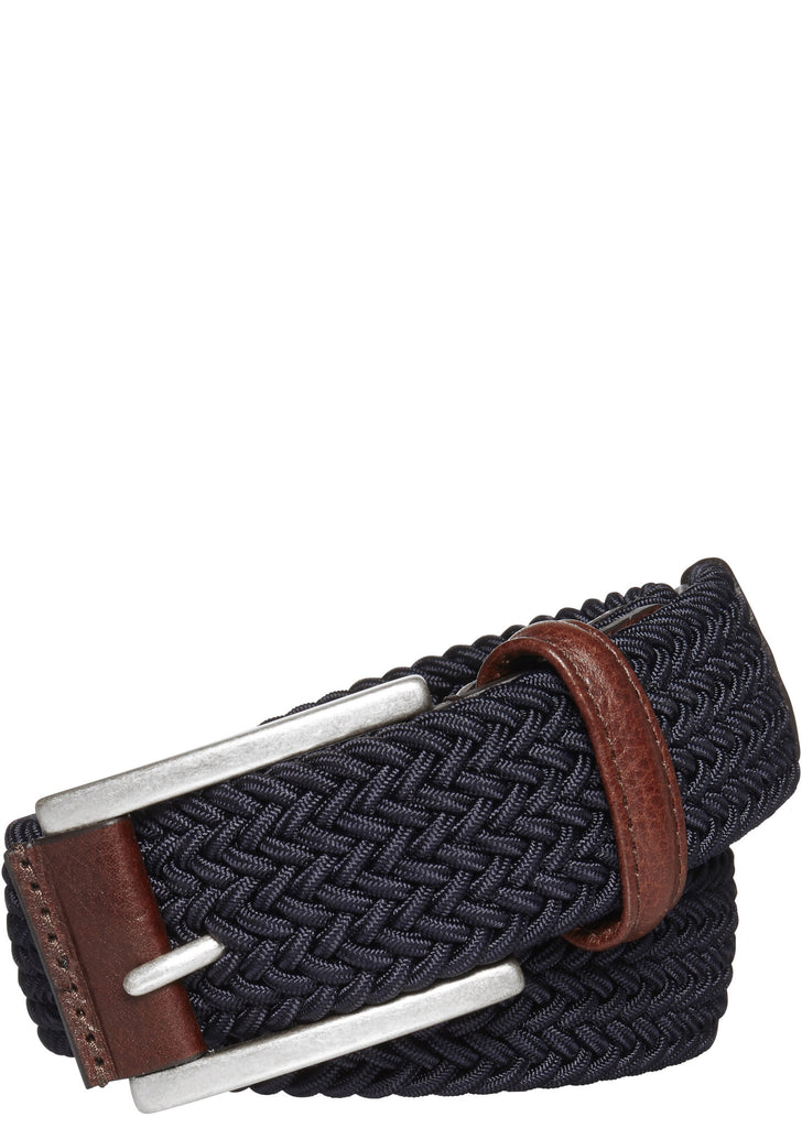 Woven Belt in Navy