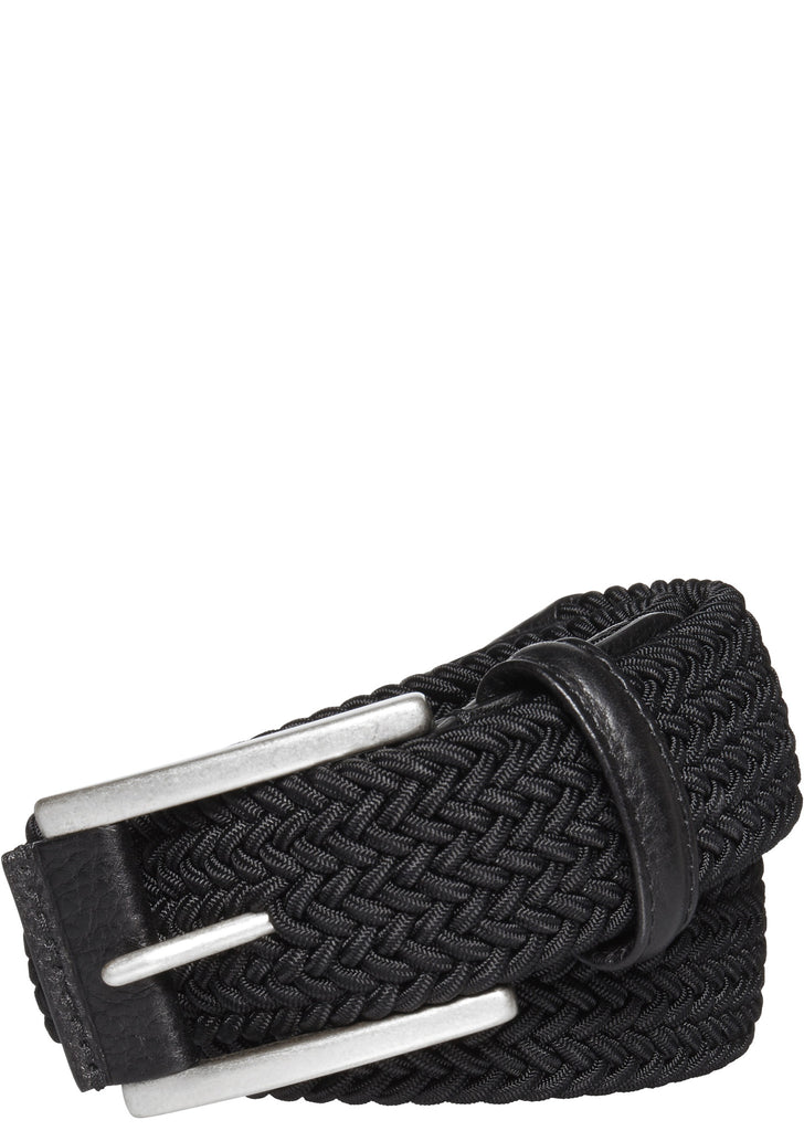 Woven Belt in Black