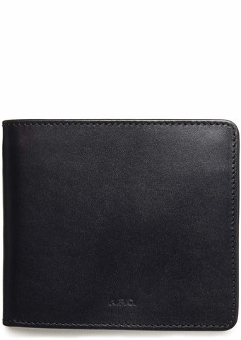 A.P.C. London Wallet in Navy
