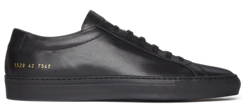 Original Achilles Low Leather Sneaker in Black