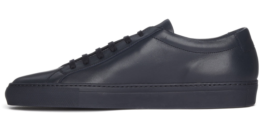 Original Achilles Low Leather Sneaker in Navy Blue