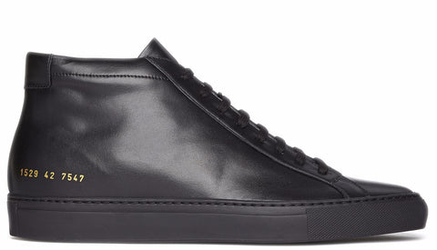Original Achilles Mid leather sneaker in black
