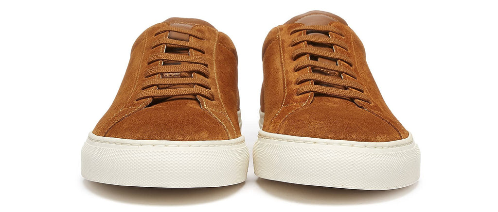 Original Achilles Low Suede Sneaker in Brown