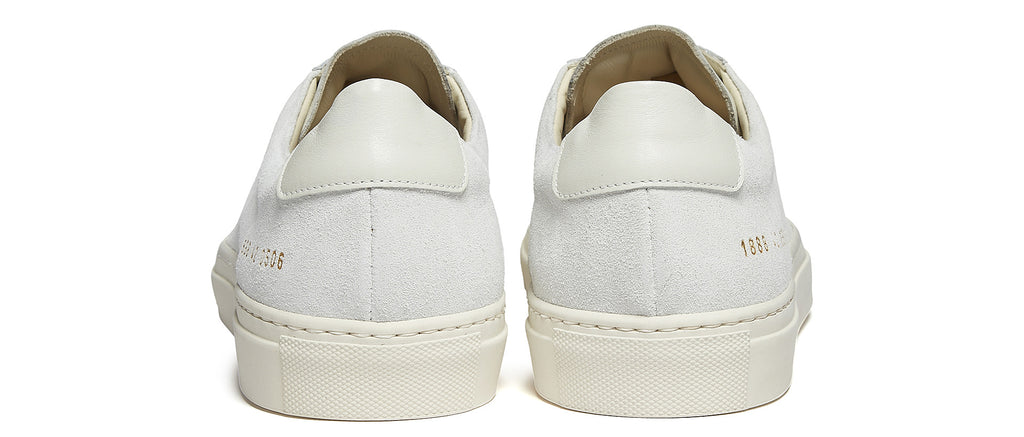 Original Achilles Low Suede Sneaker in White