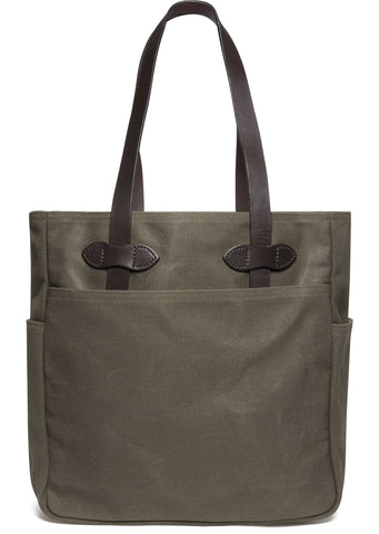 Tote Bag in Otter Green