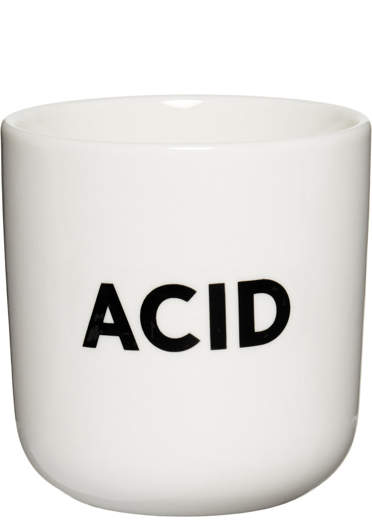 ACID Mug in White