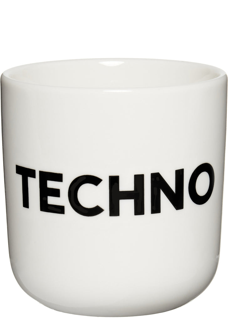 TECHNO Mug in White