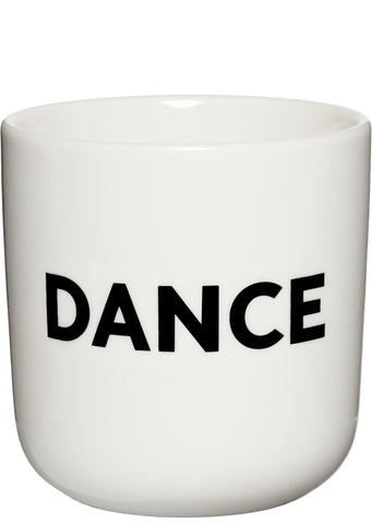 DANCE Mug in White