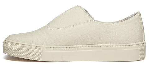Fabl Canvas Sneaker in White