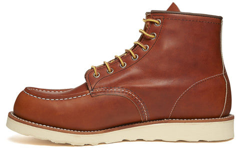 1907 Heritage Work Moc Toe Boot in Copper
