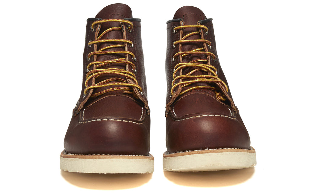 8131 Heritage Work Moc Toe Boot in Brown