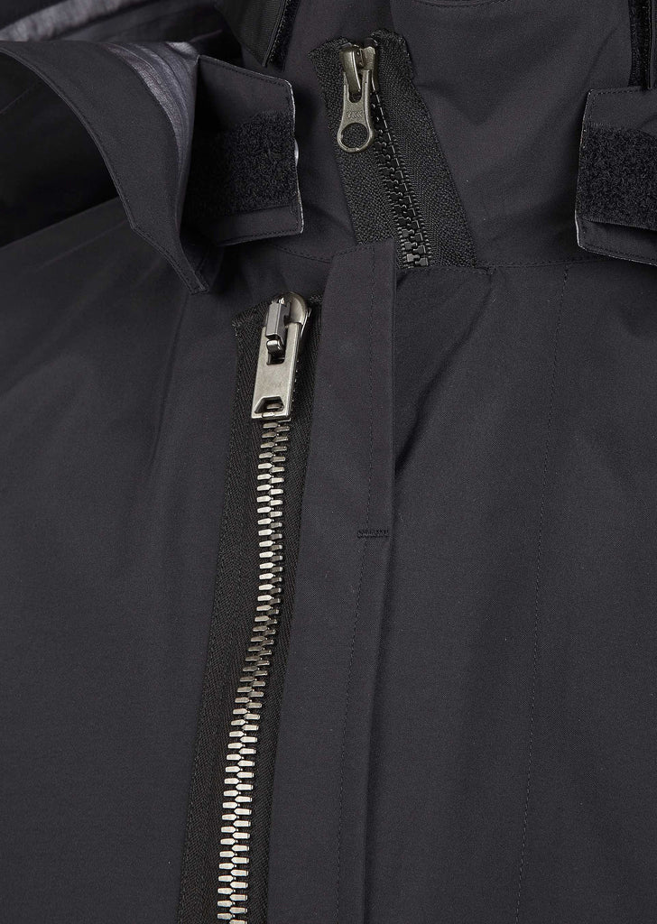 J53TS-GT 3l Gortex Pro Tec Sys Interno Coat in Black