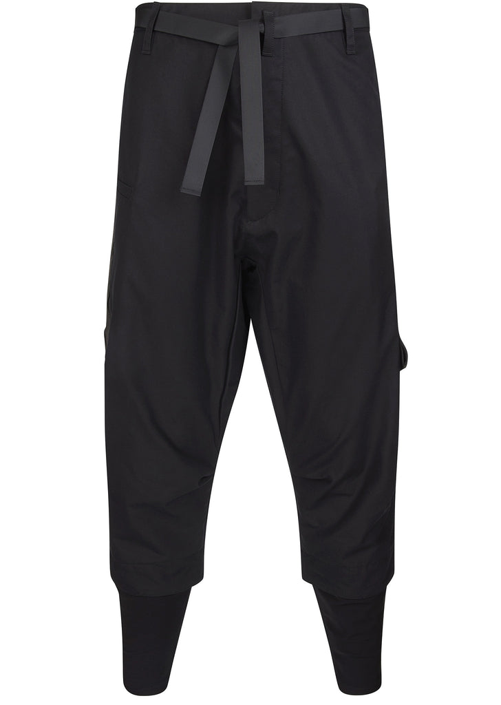 P23TS Gabardine Pants in Black