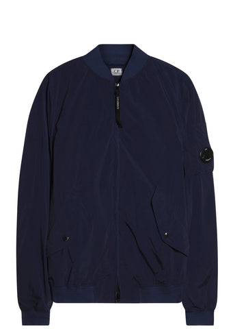 SS17 Nycra Bomber Jacket in Blue