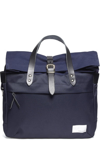 Briefcase in Navy/Black