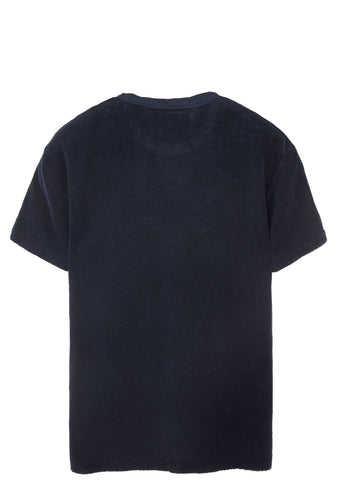 Terry Perfect Tee in Navy