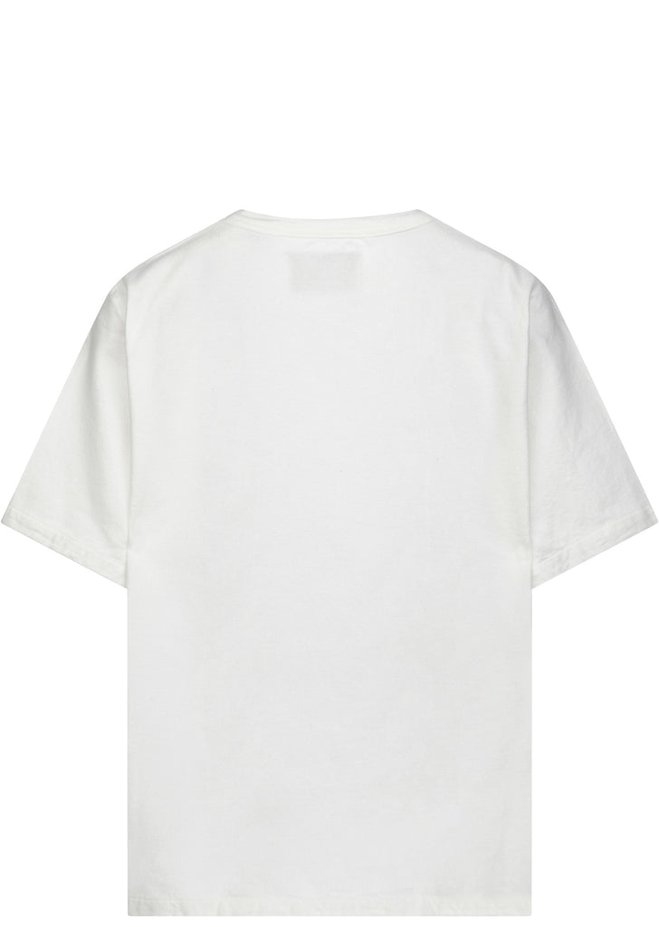 Ultimate Weave Flannel T-shirt in White