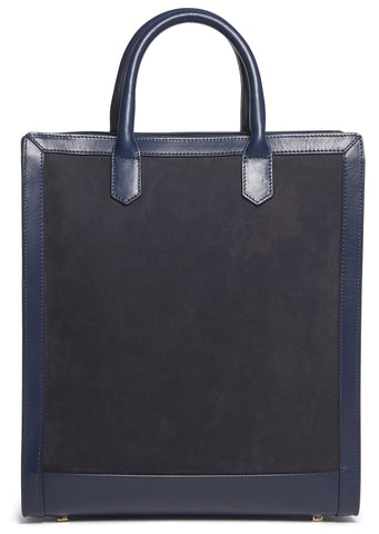 Gisele Shopper in Dark Navy