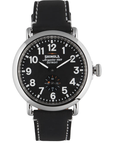 Runwell 41mm Watch in Black