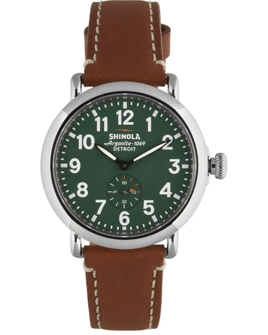 Runwell 41mm Watch in Green