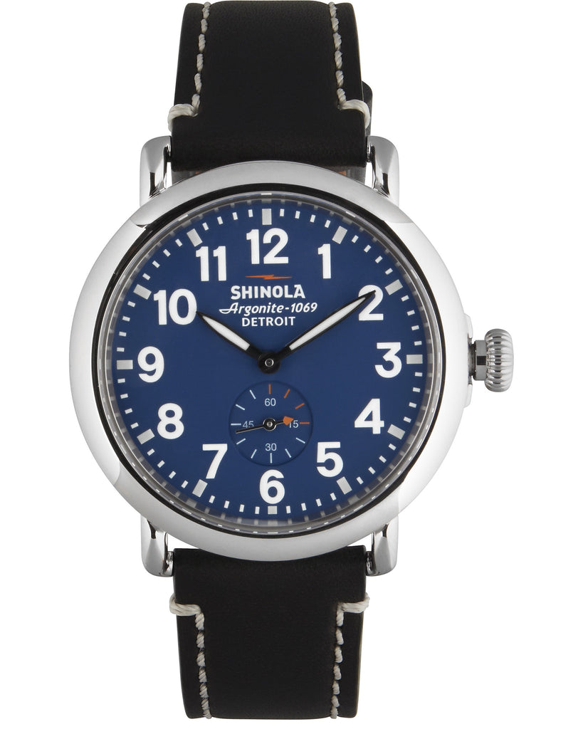 Runwell 41mm Chrono Watch in Blue
