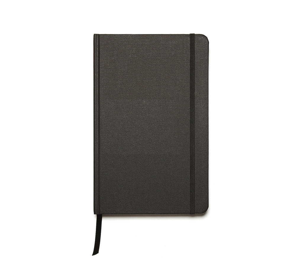 Linen Hardback Journal in Black