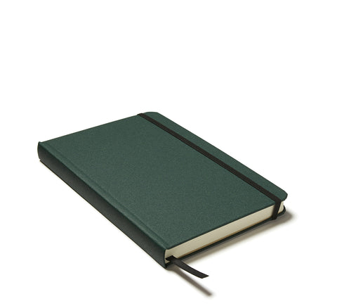 Linen Hardback Journal in Green