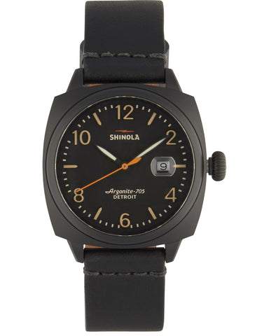 Brakeman 40mm Watch in Black