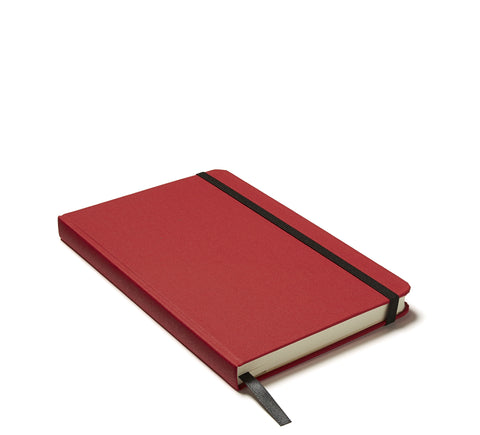 Linen Hardback Journal in Red