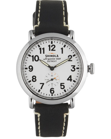 Brakeman 40mm Watch in White & Navy