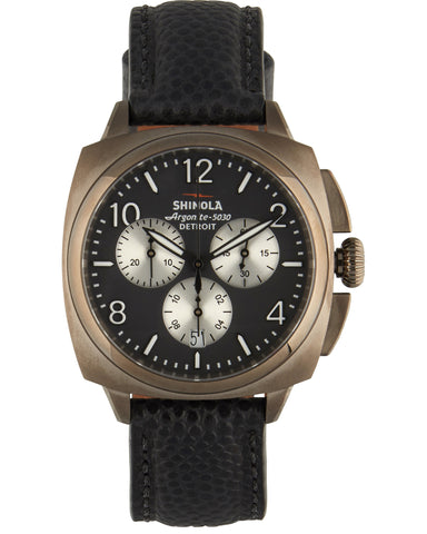 Brakeman Chrono 40mm Watch in Black