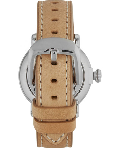 Runwell 36mm Watch in Natural & Navy