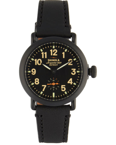 Runwell 36mm Watch in Black