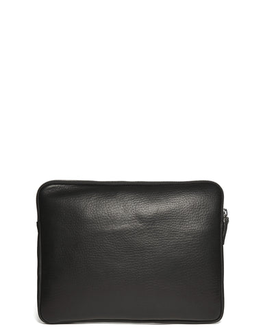 "Leather 13"" Portfolio in Black"