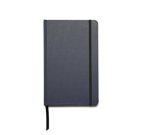 Linen Hardback Journal in Navy Blue