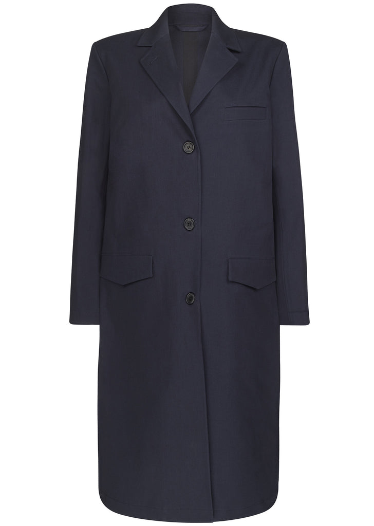 AW16 Odenplan Coat in Navy