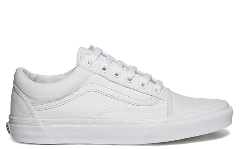 Old Skool Canvas Sneaker in White