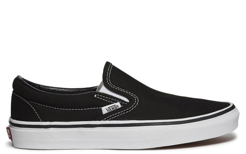 Slip-On Sneaker in Black White