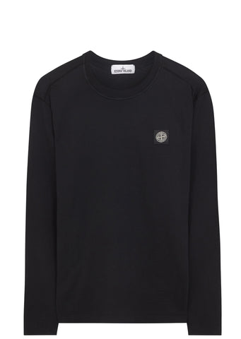 SS17 Long Sleeve T- Shirt in Black